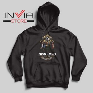 Bon Jovi Wanted Dead Or Live Hoodie
