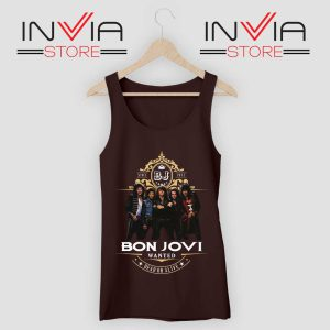 Bon Jovi Wanted Dead Or Live Tank Top