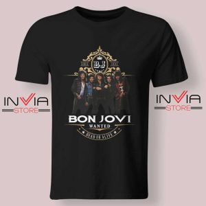 Bon Jovi Wanted Dead Or Live Tshirt