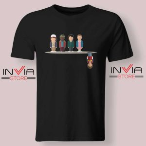 Cartoon The Upside Down Black Tshirt