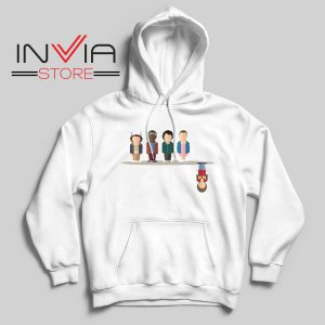 Cartoon The Upside Down Hoodie