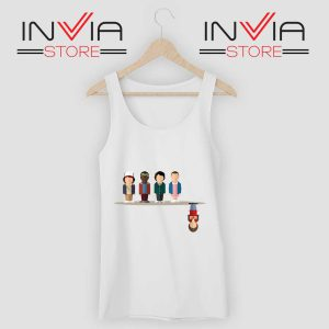 Cartoon The Upside Down Tank Top