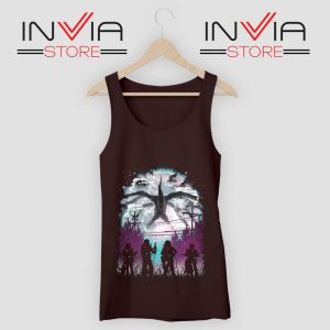 Demogorgon Species Stranger Things Tank Top