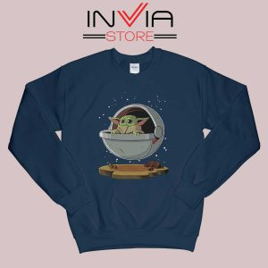 Floating Baby Yoda Sweatshirt