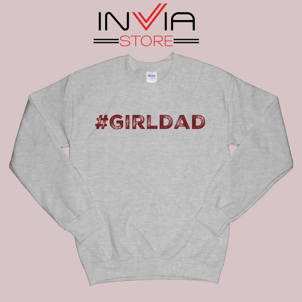 Girldad Kobe Bryant Inspiration Grey Sweatshirt