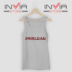 Girldad Kobe Bryant Inspiration Grey Tank Top