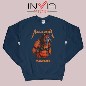 Hall And Oates Metal Beast Navy Sweatshirt