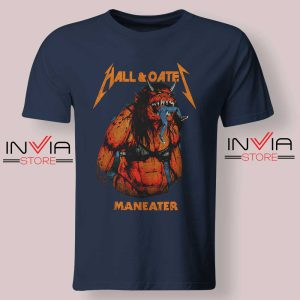 Hall And Oates Metal Beast Navy Tshirt