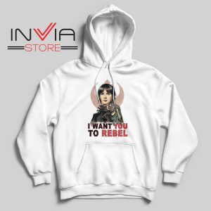 I Want You To Rebel Star Wars Hoodie