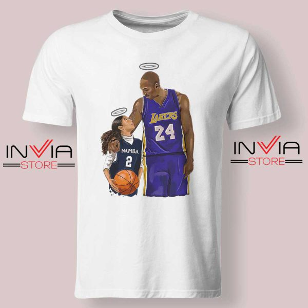 Kobe Bryant and Gigi Bryant NBA Tshirt