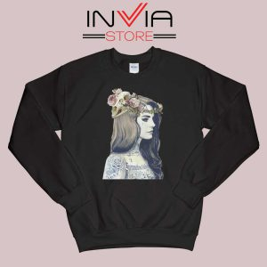 Lana Summertime Sadness Black Sweatshirt
