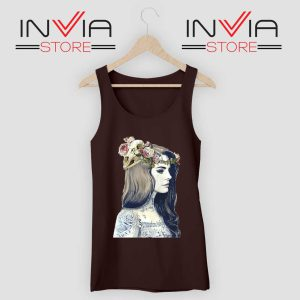 Lana Summertime Sadness Black Tank Top