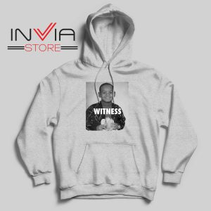 LeBron James Witness Quotes Grey Hoodie