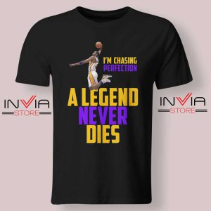 Legend Never Dies Mamba Black Tshirt