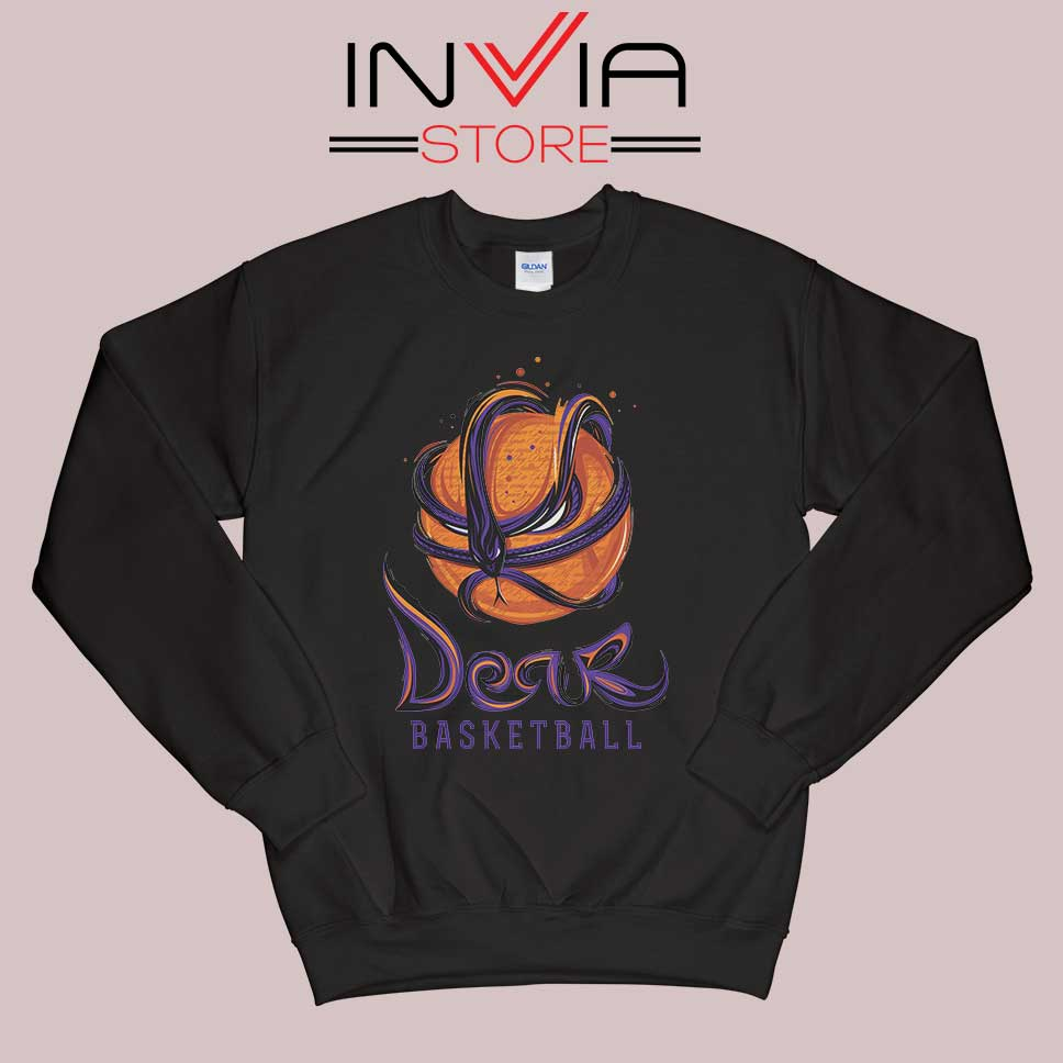 Mamba Dear Basketball Black Sweatshirt