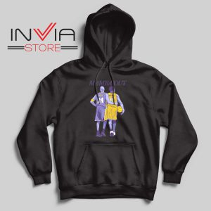 Mamba Out Kobe LA Lakers Black Hoodie
