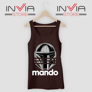 Mando Adidas Stripes Black Tank Top