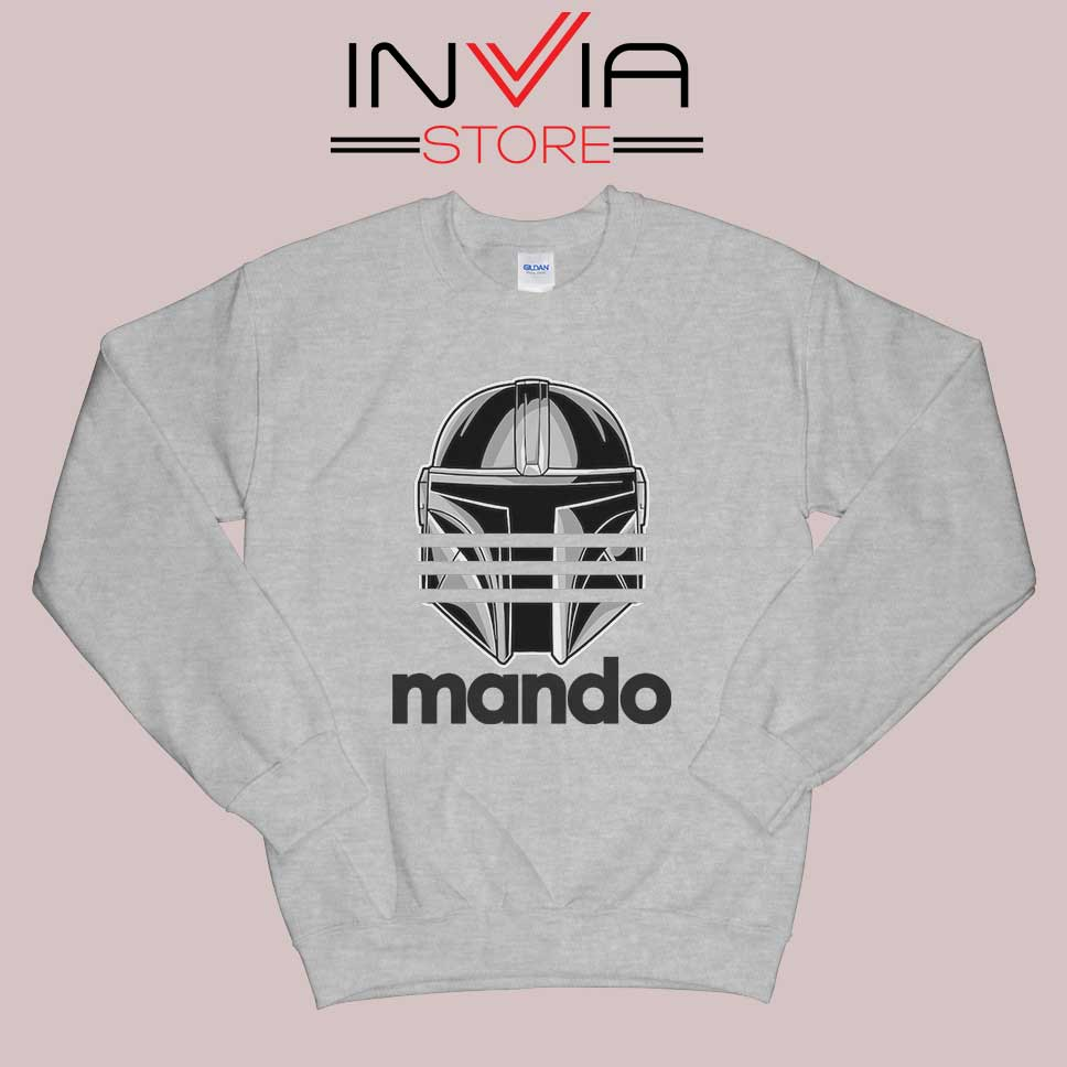 Mando Adidas Stripes Grey Sweatshirt