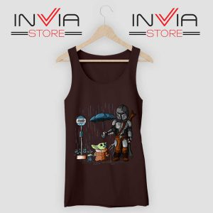 My Neighbor The Child Yoda Black Tank Top