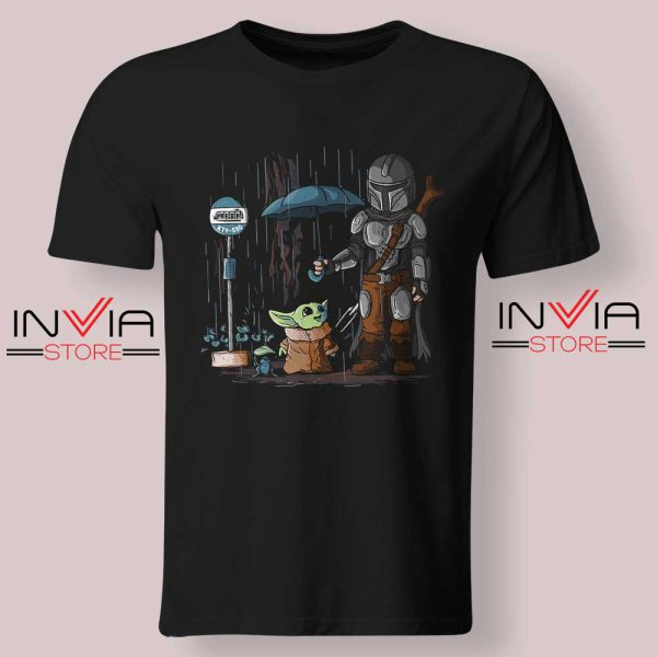 My Neighbor The Child Yoda Black Tshirt
