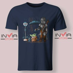 My Neighbor The Child Yoda Navy Tshirt