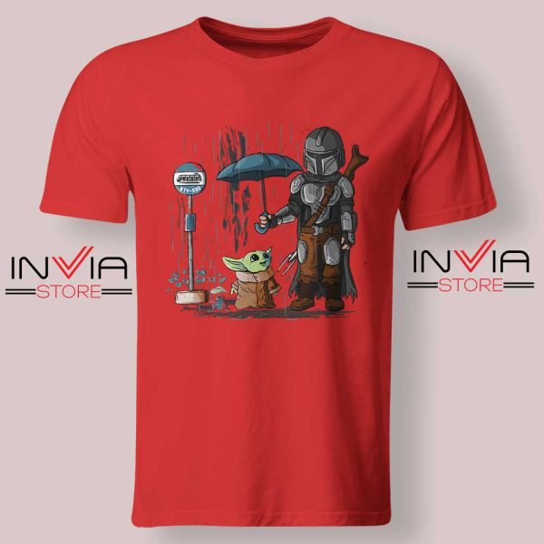 My Neighbor The Child Yoda Red Tshirt