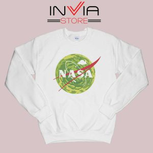 NASA Logo Get Schwifty Sweatshirt