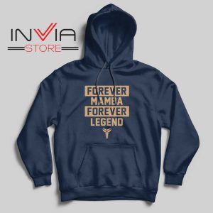 NBA Forever Mamba Forever Legend Navy Hoodie