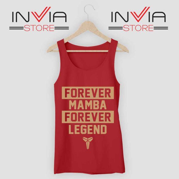 NBA Forever Mamba Forever Legend Red Tank Top