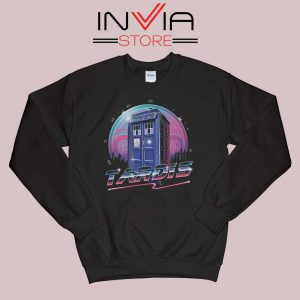 Rad Tardis Dr Who Police Box Sweatshirt