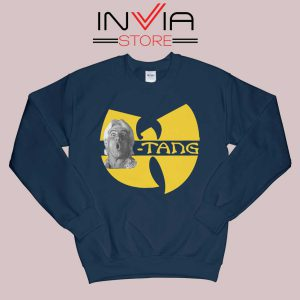 Ric Flair Funny Wutang Navy Sweatshirt