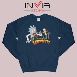 Rick and Morty Get Schwifty Sweatshirt
