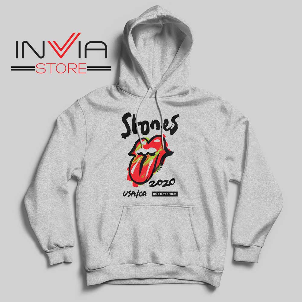 Rolling Stones No Filter Tour Grey Hoodie