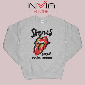 Rolling Stones No Filter Tour Grey Sweatshirt