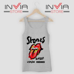 Rolling Stones No Filter Tour Grey Tank Top