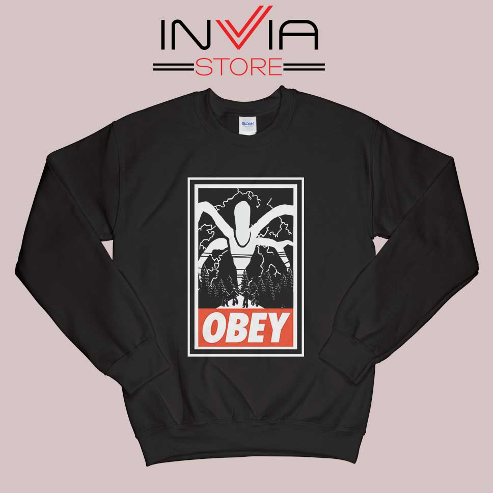 Stranger Things Demogorgon Obey Sweatshirt