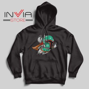 Super Bounty Hunter Star Wars Black Hoodie