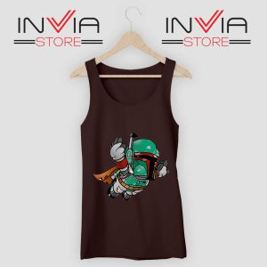 Super Bounty Hunter Star Wars Black Tank Top