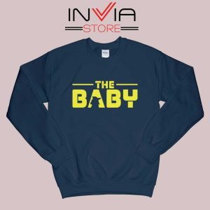 The Baby Star Wars Navy Sweatshirt