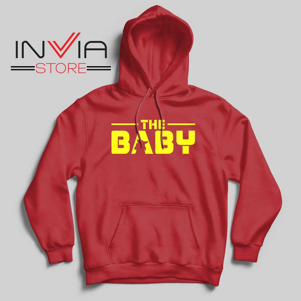 The Baby Star Wars Red Hoodie