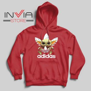 The Child Star Wars Adidas Red Hoodie