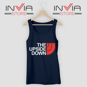 The North Face Upside Down Navy Tank Top