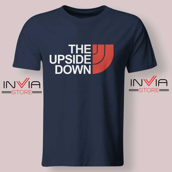 The North Face Upside Down Navy Tshirt