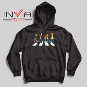 The Simpsons Abey Road Hoodie