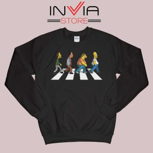 The Simpsons Abey Road Sweatshirt