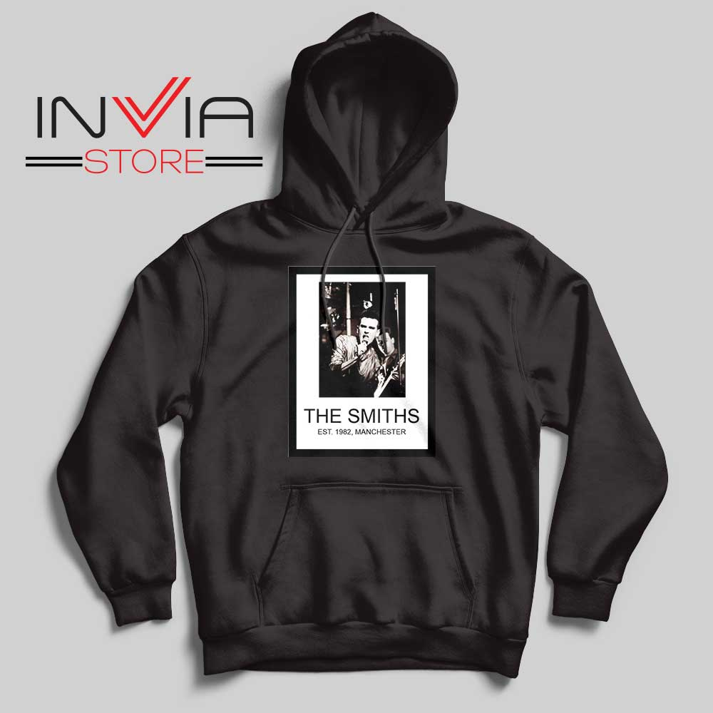 The Smiths Est 1982 Band Black Hoodie