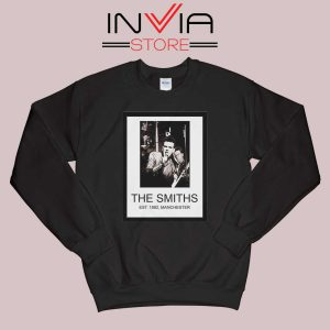 The Smiths Est 1982 Band Black Sweatshirt