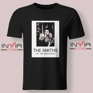 The Smiths Est 1982 Band Black Tshirt