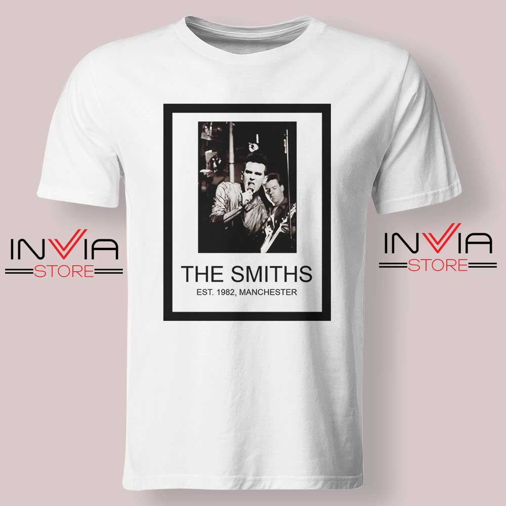The Smiths Est 1982 Band Tshirt