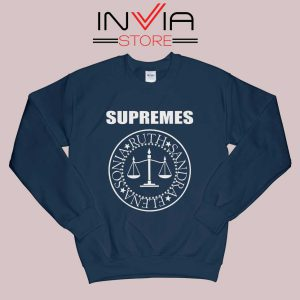 The Supremes Sandra Ruth Sonia Elena Navy Sweatshirt